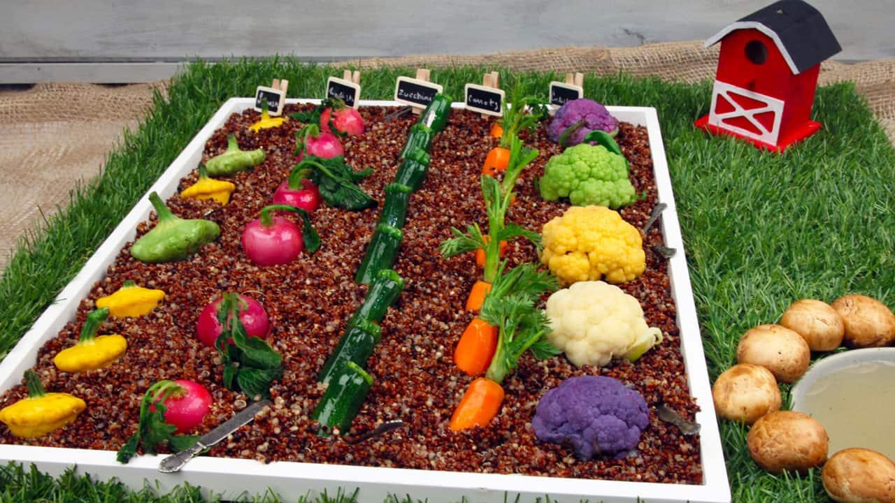Recipe tiny veggie garden crudite cbc life for Cuisine garden