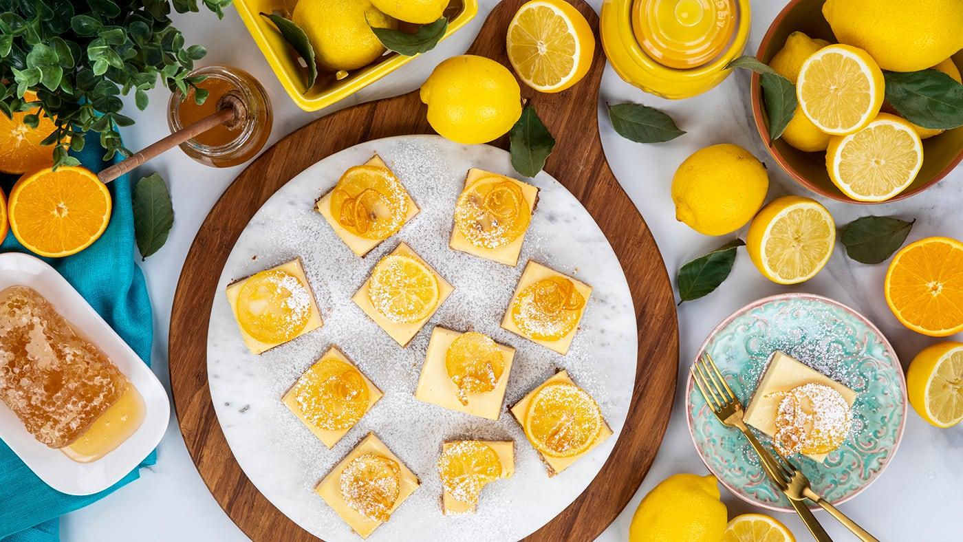 how to make lemon squares recipe