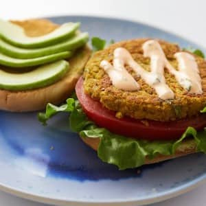 Recipe: Liv B's Curried Chickpea Burger