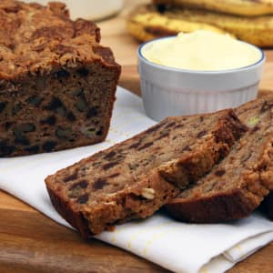 Recipe: Chocolate Walnut Banana Bread