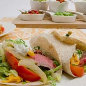 Have-It-Your-Way Steak and Pepper Fajitas