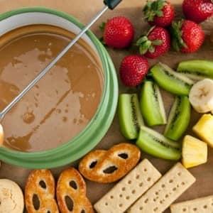 Recipe: Peanut Butter Fondue