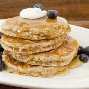 Best-Ever Whole-Grain Pancakes