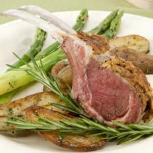 Rosemary Rack of Lamb
