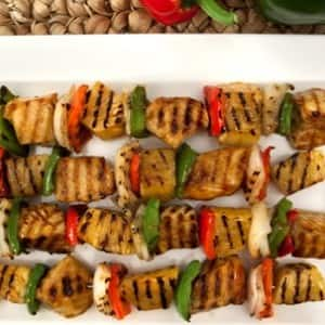 Sweet-and-Sour Chicken Kabobs