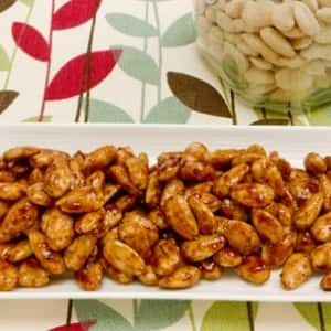 Barbecue Roasted Almonds