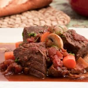 Braised Beef in Wine