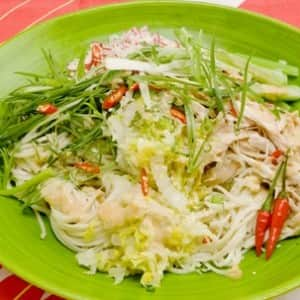 Chinese Sesame Noodles with Chicken