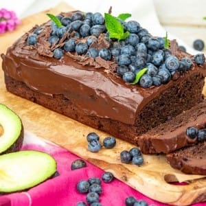 Recipe: Chocolate Blueberry Loaf Cake