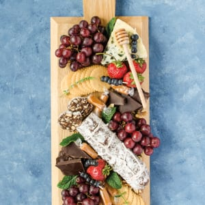 Recipe: Chocolate Charcuterie Dessert Board with Chocolate Salami