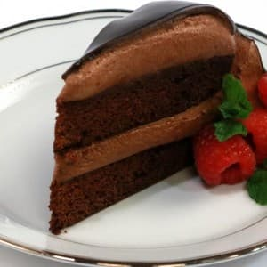 Recipe: Chocolate Mousse Cake