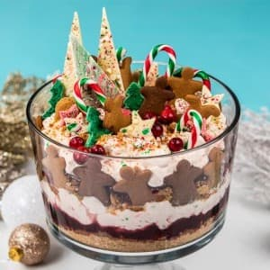 Recipe: Candy Cane Gingerbread Trifle