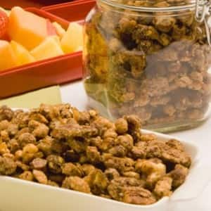 Coffee Sugar and Spice Nuts