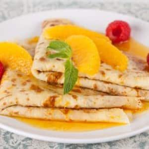 Recipe: Crêpes Suzette