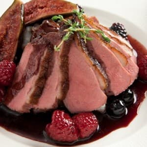 Recipe: Seared Duck Breast with Red Wine and Berry Sauce