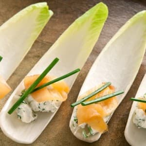 Recipe: Endive with Smoked Salmon Appetizer