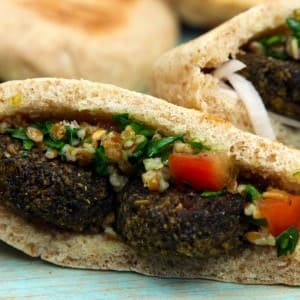 Recipe: Egyptian Falafel Platter
