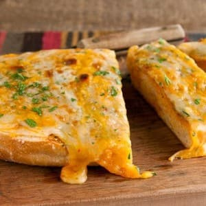 Recipe: Four-Cheese Garlic Bread