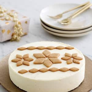 Recipe: Anna Olson's Gingerbread White Chocolate Mousse Cake