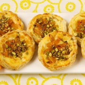 Individual Brandied Apricot Galettes