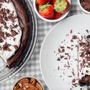 Recipe: Dark Chocolate Mud Pie