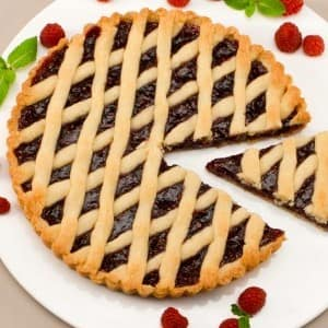 Lattice Jam Tart