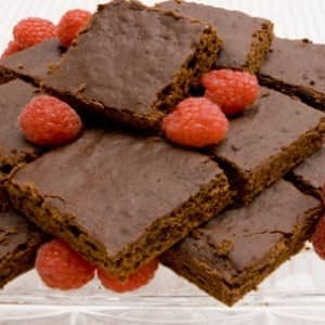 Lean but Luscious Chocolate Brownies
