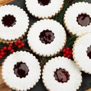 Recipe: Linzer Cookies
