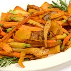 Recipe: Maple Glazed Squash and Carrots