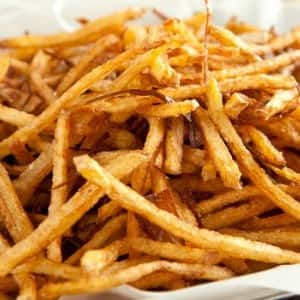 Recipe: Matchstick Fries with Crispy Shallots