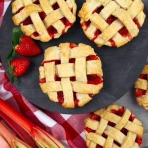 Recipe: Strawberry Rhubarb Tarts