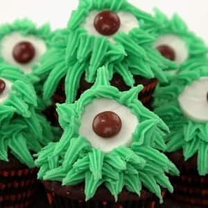 Recipe: One-Eyed Monster Cupcakes