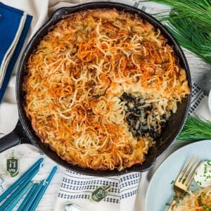 Recipe: Hanukkah Potato and Noodle Kugel