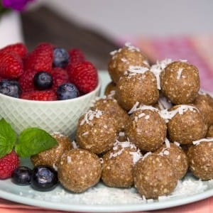 Recipe: Joy McCarthy's Oat, Spice and Everything Nice Balls