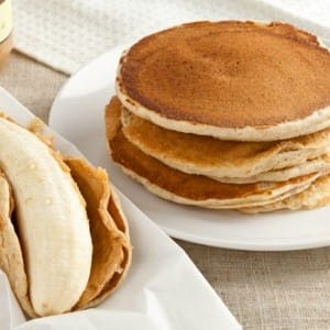 Recipe: Pancake Boats with Peanut Butter and Banana