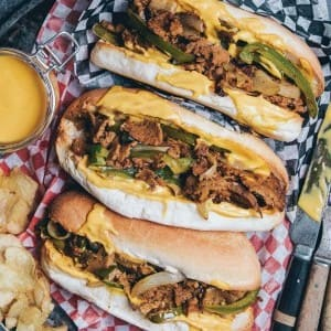 Recipe: Lauren Toyota's Vegan Philly Cheesesteak