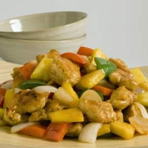 Sweet-and-Sour Pineapple Chicken