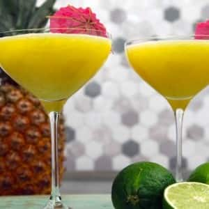Recipe: Pineapple Slushy Mojito