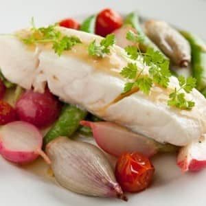 Recipe: Olive-Oil-Poached Halibut
