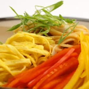 Hot and Spicy Noodle Salad