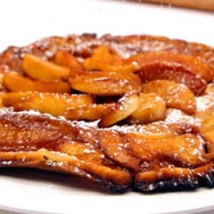 Glazed Apple Cinnamon Puff