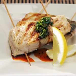 Grilled Pickerel with Charmoulah