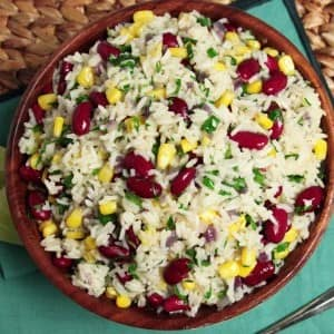 Recipe: Rice and Beans Pilaf