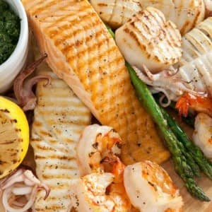 Recipe: Seafood Mixed Grill