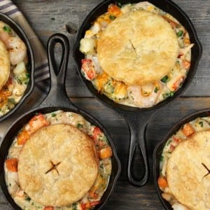 Recipe: Seafood Pot Pie