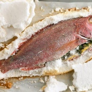 Recipe: Salt-Baked Snapper