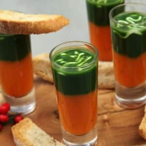 Recipe: Holiday Soup Shots