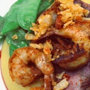 Recipe: Shahir's Surf and Turf with Curried Polenta