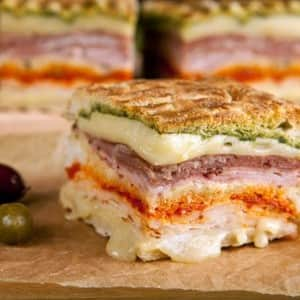 Recipe: Turkey Club Panini