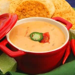 Bubbling Cheese Dip